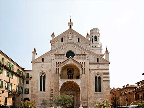 Complesso della Cattedrale - Chiese Vive - Chiese Verona